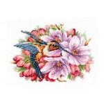 K-44 Колибри и цветя