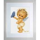 B368 Ангел и пеперуда