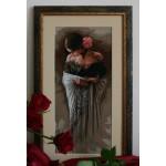 B469 Испанка с роза - СПРЯН ОТ ПРОИЗВОДСТВО, ДО ИЗЧЕРПВАНЕ