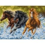 Волни коне - 1:1
