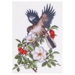 П4 001 Птица в шипка