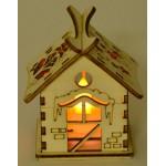Светеща дървена къщичка - 1